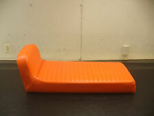 1969 Evinrude Bobcat *Orange Pleated* Snowmobile Seat Cover! *New*