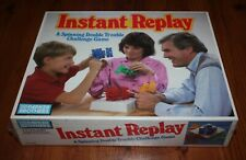 INSTANT REPLAY Game 1987 Parker Brothers Factory Sealed