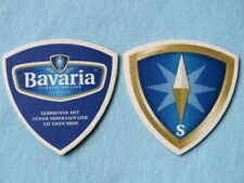 Beer Coaster ~ BAVARIA Brewery, Lieshout, HOLLAND ~*~ Since 1719 ~*~ Tegistology