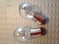 Yamaha YBR125 Honda CBR125 12V Headlight Bulbs Head Light BA20D -35/35W