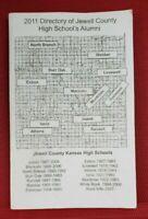 2011 Directory Jewell County KANSAS High School Alumni 1887-2011 & Alphabetical