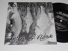 DR. GUNNI NM Eins Og Fólk Er Flesk Iceland 1991 Dora Stora PUNK ROCK ELECTRONIC