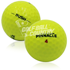 24 Pinnacle Rush Yellow Aaaa Near Mint Used Golf Balls - Free Shipping