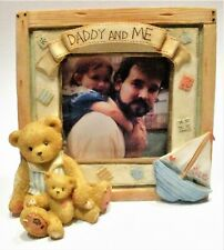 """Cherished Teddies """"Daddy and Me"""" Photo Frame 128074 Enesco"""