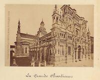Pavia Certosa Italia Vintage Albumina Ca 1875