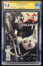 Marvel X-Force Sex and Violence #2 CGC 9.8 Signed by Dell'Otto Wolverine Domino