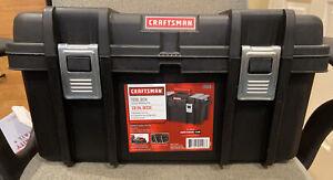 Craftsman 19 Inch Tool Box With Tray Black Portable Storage Heavy Duty Mechanic
