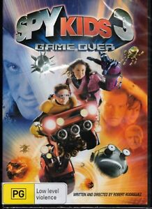 SPY KIDS 3 Game Over DVD (Region 4) NEW & SEALED Free Post + Tracking