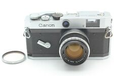 【EXC+5】Canon P Rangefinder film camera + 50mm f/1.8 Lens L39 from Japan 453