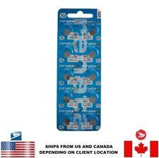 10 PCS Renata 341 Watch Batteries 0% MERCURY SR714SW Swiss Made US Seller