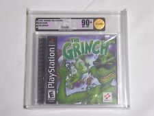 NEW The Grinch Playstation 1 Game VGA 90+ NM+/MT Gold Graded Sealed PS1 US NTSC