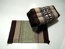 Pillow Thai Cotton  Free Cover Pillow Bolster Cushion Headrest Meditation Kapok
