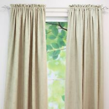 Brite Ideas Living Rod Pocket Curtain Panel, 54 by 108-Inch Passion Suede Oyster