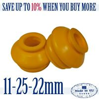 2 X UNIVERSAL Polyurethane 11 25 22 Track Rod End Ball Joint Dust Cover Boots