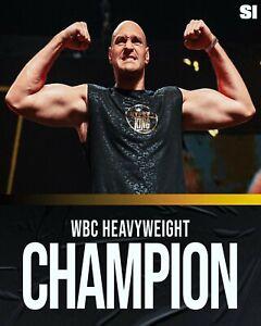 Tyson Fury WBC Heavyweight Championship Photo - select size