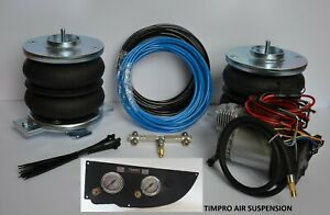 Air Suspension KIT with Compressor for Fiat Ducato 2006 - 2021 LHD or RHD panel
