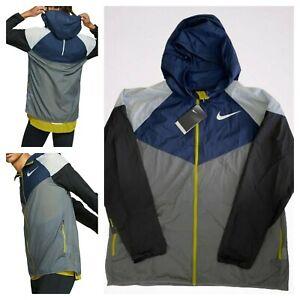 MSRP $110 Nike WINDRUNNER Running Men's Sz 2XL Jacket Hooded Reflective AR0527