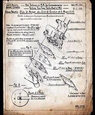 """Concessionnaire AUTOMOBILE CITROEN POMPE à HUILE """"NOTE TECHNIQUE N°397"""" en 1939"""
