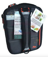 NEW ULTRA Arctic Zone Lunch Box 4 Interlocking Containers Insulated Expandable!