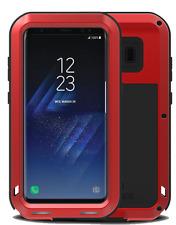 Coque antichoc SAMSUNG Galaxy S8   Etanche - LOVE MEI FRANCE - Rouge
