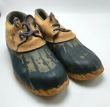 Bass Women's 6 Black Duck Shoes Waterproof Duck Boots