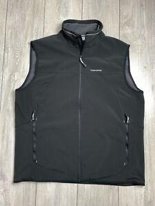 CRAGHOPPERS WINDSHIELD Mens Softshell Gilet Bodywarmer   XL   EUR 56   Black