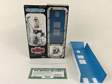 """Custom Vintage Star Wars Esb 12"""" de Luke Skywalker Hoth Caja Versión Moderna + Insertos"""