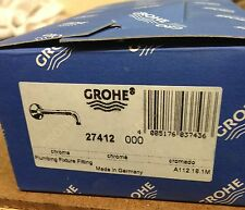 "Grohe Relexa 6-5/8"" Tubular Shower Arm, item #27412000"