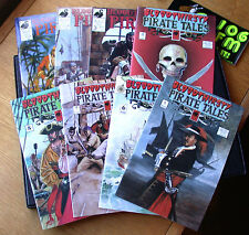 BLOODTHIRSTY PIRATE TALES # 1-8 Blackbeard RICK BECKER Complete Set