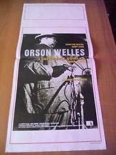 Locandina L'INFERNALE QUINLAN versione restaurata 1998 Orson Welles
