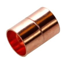 15MM END FEED COUPLING COPPER (PACK OF 25) NEW