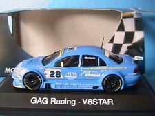OPEL OMEGA V8 #28 STAR SERIE GAG RACING MUSTOCH 2001 SCHUCO 04826 1/43 ESCHMANN