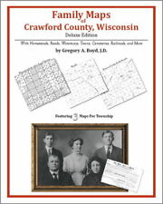 Family Maps Crawford County Wisconsin Genealogy WI Plat