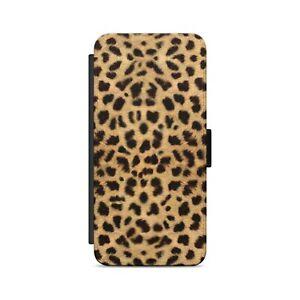 Leopard Skin Print Wild Animal Skin Pattern Flip Wallet Phone Case