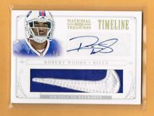 2013 National Treasures Robert Woods Autograph Nike Logo Swoosh Patch RC 1/2