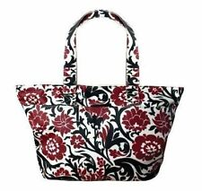 Isabella's Journey Trinity Zip-Top Laminated Cotton Tote/Makeup/Toiletry Bag
