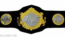 FC MMA ONE CHAMPIONSHIP LEATHER REPLICA BELT.Adult size