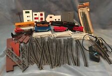HUGE LOT Life Like Trains And Track With Acc Rail Box Chessie System FP-45 T909S