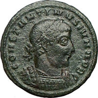 CONSTANTINE II Jr. Constantine the Great son Ancient Roman Coin Legions  i24657