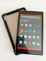 """Amazon Kindle Fire HD 8 Tab with Alexa, 8"""" HD  16 GB Black L5S83A good condition"""