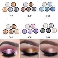 8 Farben Shimmer Matte Lidschatten-Palette Puder Lidschatten Makeup Kit Set Mak