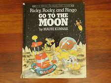Ricky, Rocky and Ringo Go to the Moon by Mauri Kunnas - Hardcover