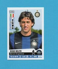 PANINI CALCIATORI 2012-2013-Figurina n.199- MILITO-INTER -NEW