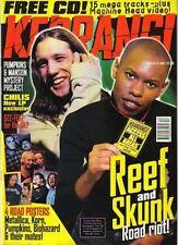 Skin of Skunk Anansie on Kerrang Cover 1997    Korn   Shirley Manson