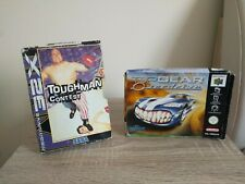 Toughman Contest Mega Drive 32X & Top Gear Overdrive N64 Nintendo 64 BOXES ONLY