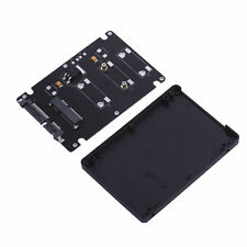 "Case 7 mm Thickness and Mini Pcie mSATA SSD to 2.5"" SATA3 Adapter Card"