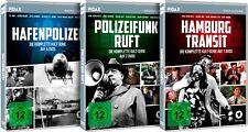 Hamburger Krimi-Trilogie/Hafenpolizei + Polizeifunk ruft + Hamburg Transit Pidax