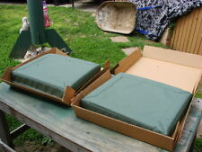 *US Military Army Truck Hummer Humvee M998 Rear Seat Back Rest Cushion Set Pair