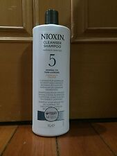 Nioxin System 5 Cleanser For Medium to coarse Hair 1000ml / 33.8oz (Chemically)