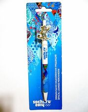 2014 Olympic Games Sochi OFFICIAL PRODUCTS LICENSE Automaitc Ball Pen Leopard
